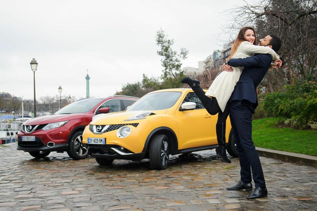 SERIØS UNDERSØKELSE: Det er Universitetet i Cambridge som har funnet ut at Nissan-eiere er de mest vennlige og omtenksomme. Foto: Nissan