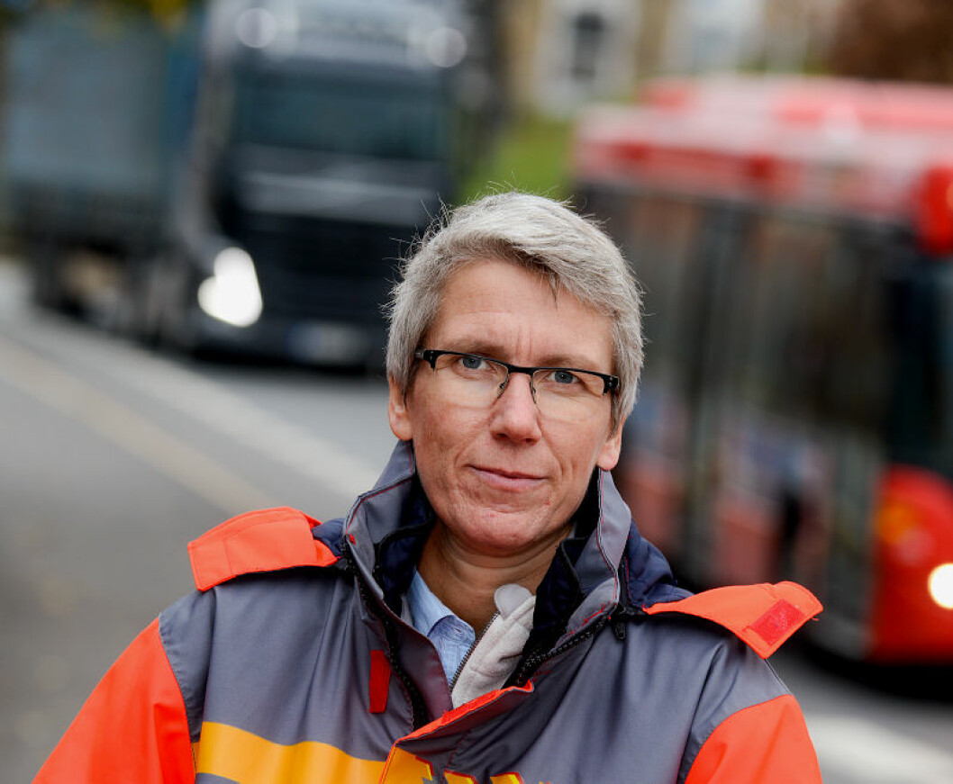 FIKK SVAR: Guro Ranes, avdelingsdirektør for trafikksikkerhet i Statens vegvesen. Foto: Knut Opeide