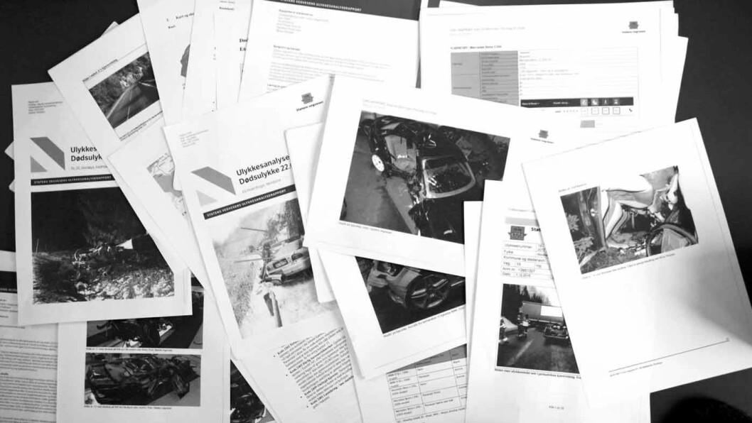 GAMLE OG DÅRLIGE DEKK EN RISIKO: Motor har gått gjennom 51 ulykkesanalyserapporter fra Statens vegvesen. De viser at dårlige dekk har vært en medvirkende årsak til flere av dødsulykkene på vinterføre i Norge de tre siste årene.