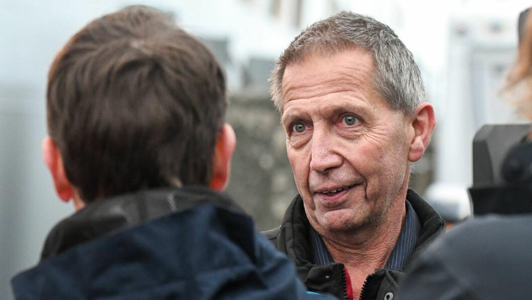 TRISTE TALL: Vegdirektør Terje Moe Gustavsen må konstatere at september ble en dyster måned for trafikksikkerheten. Foto: Knut Opeide