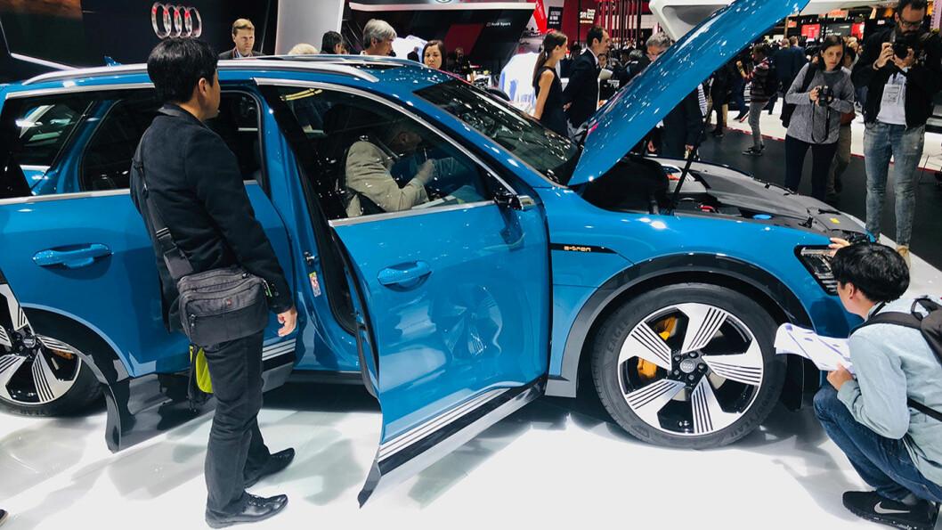 TYSK TØFFING: Audi e-tron