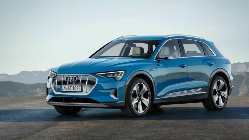 UTFORDRER: Audi e-tron