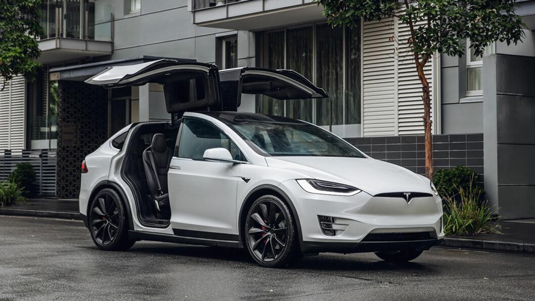 PÅ NORSKTOPPEN: Tesla Model X var Norges mest populære bil i september.