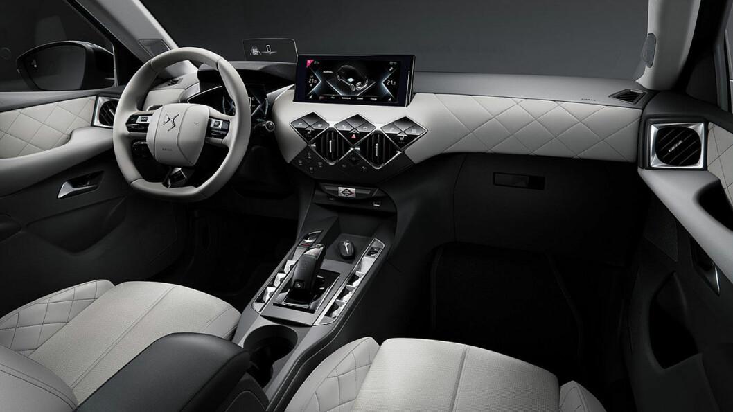 STOR INTERESSE: Mer enn 1100 personer reserverte en DS 3 Crossback E-Tense i løpet av det første døgnet bilen var tilgjengelig for norske kjøpere. Bilen har en startpris på drøyt 300.000 kroner.