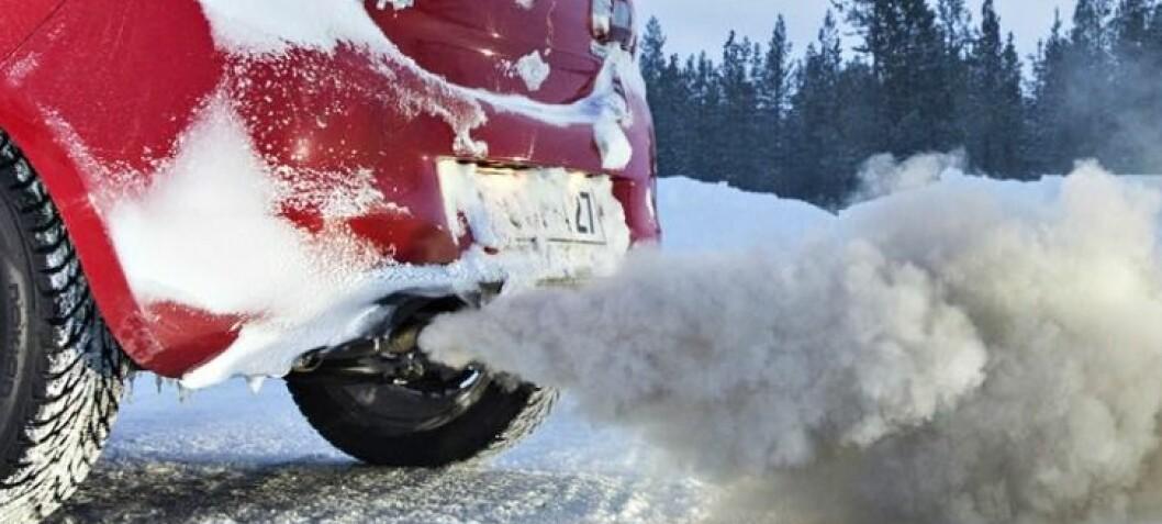 Selv de reneste dieselmotorene får skyhøye utslipp i vinterkulda