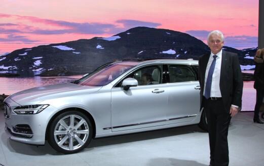 – Volvo skal skifte ut alle modeller neste tre år