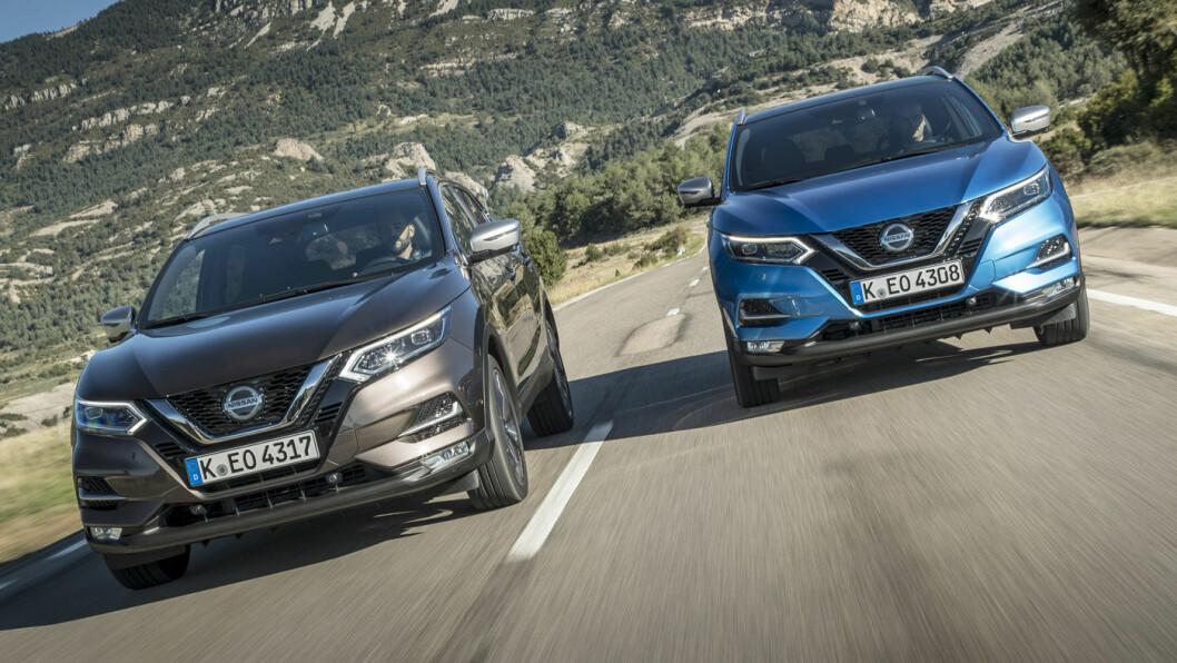BESTSELGER: Med over 30.000 solgte biler har Qashqai vært en svært viktig modell for Nissan i Norge. Foto: Nissan