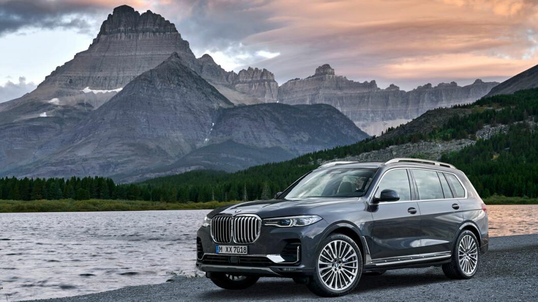TOPPMODELL: Med X7 topper BMW et historisk år. Men det skal sies at gigant-SUV'en ikke er en bil for de brede lag. Prisen starter på drøyt 1,2 millioner.