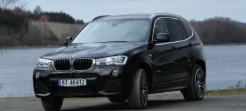 Sportslig og komfortabel BMW X3