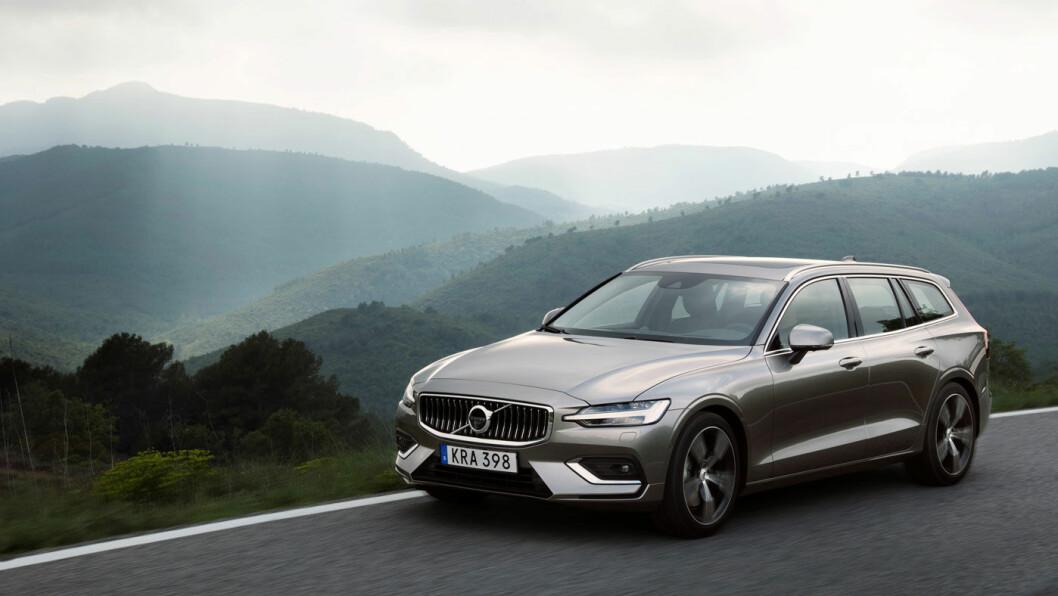 GÅR UNNA: Volvo lanserte ny versjon av V60 i sommer.