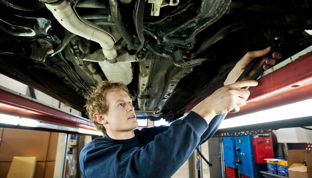 STORE FORSKJELLER: Japanske og sør-koreanske biler kommer best ut på skadestatistikken til svenske Länsförsäkringar.