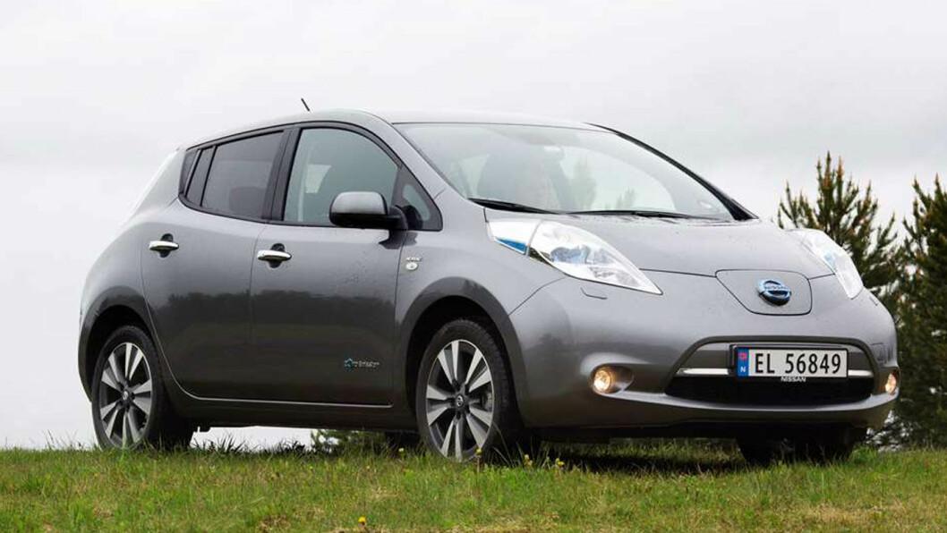 KJØP HEVET: Nye Nissan Leaf har tatt Norge med storm. Men en misfornøyd kunde i Nord-Norge har nå fått heve kjøpet. Foto: Jon Terje Hellgren Hansen