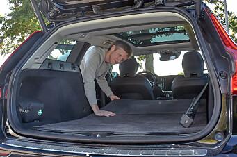 Volvo oppgir for mye bagasjeplass i V60 og V90