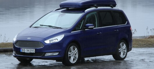 Test Ford Galaxy - favoritt for store familier