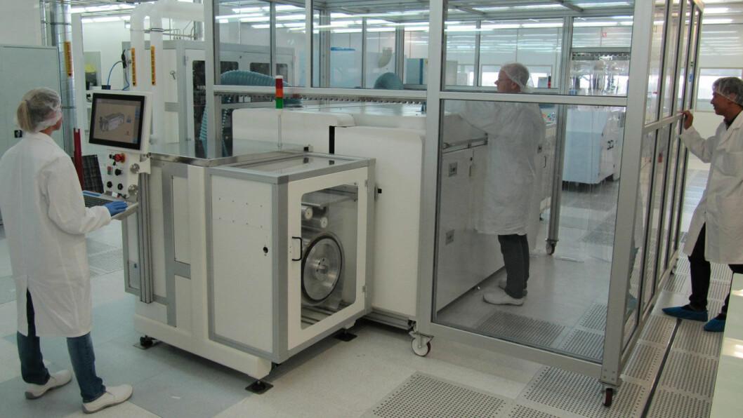 FRANSK: NAWA Technologies har 25 ansatte ved selskapets hovedkontor i Rousset i sør-Frankrike.