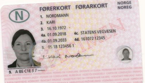 Er førerkort en menneskerett?