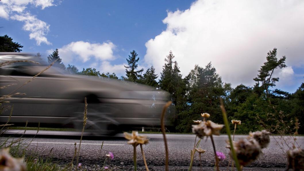 TRYGGERE PÅ VEIEN: Dødstallene på veien er kraftig  redusert sammenliknet med tidligere år. Foto: Scanpix