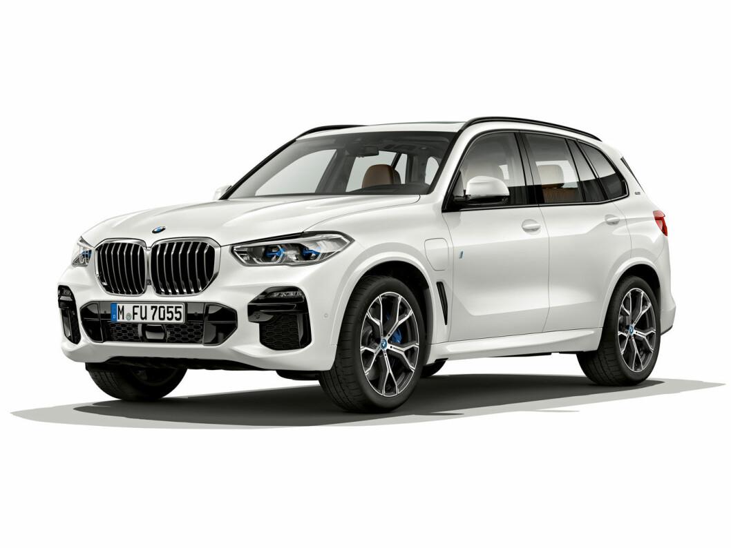 FJERDE GENERASJON: BMW X5 45 eiPerformance.