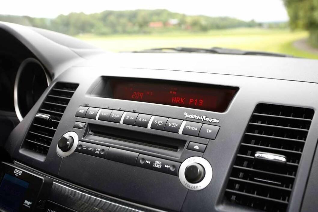 TOK IKKE SIGNALET: Kjøperen trodde hun fikk både navigasjon og DAB-radio i bilen hun kjøpte. Men det gjorde hun ikke…