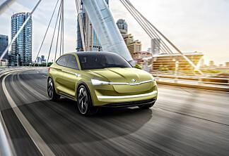 Dette er Skodas første elektriske bil