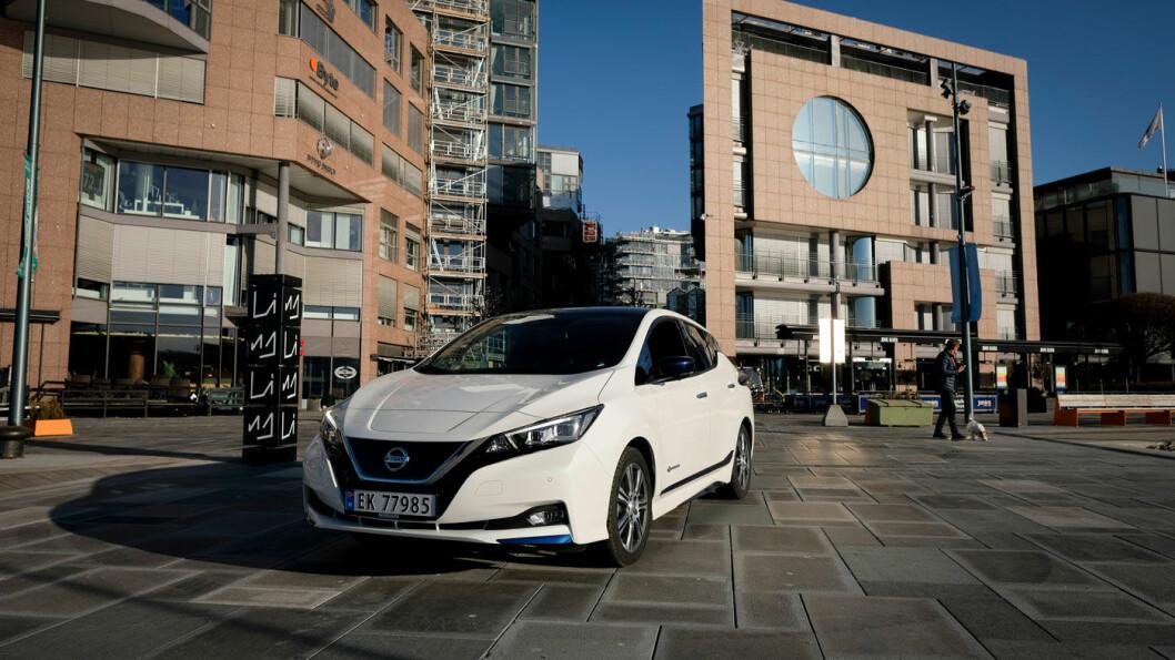 UTSETTER lansering: Nissan Leaf kommer med en større patteripakke. Men ikke i år. Foto: Jon Terje Hellgren Hansen