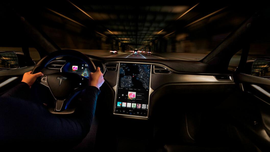 MISTER FART: Skyhøye tollsatser fører til at Tesla selger vesentlig færre biler i Kina. Foto: Tesla Motor
