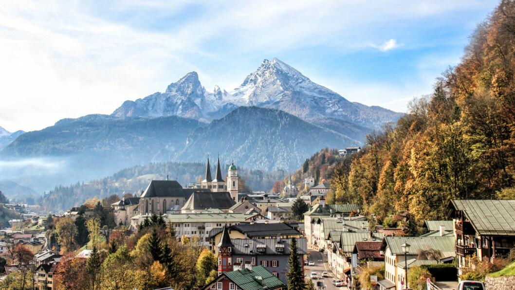 ALPELANDSBYEN: Berchtesgaden ligger i Bayern, nord for nasjonalparken med samme navn, og nær grensen til Østerrike.