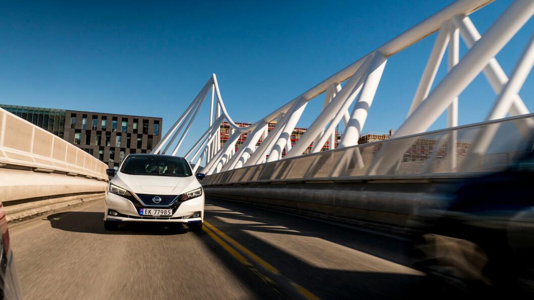 POPULÆR: Nissan Leaf.
