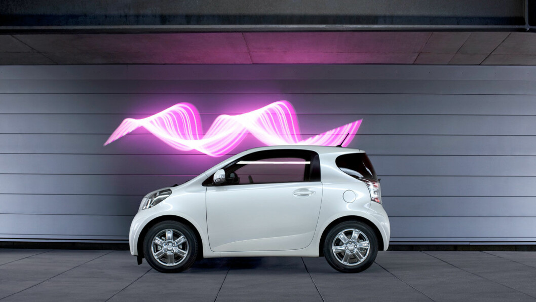 TOYOTA IQ: Et driftssikkert og sikkert bruktbilvalg. Overraskende komfortabel på tross av størrelsen. Foto: Toyota