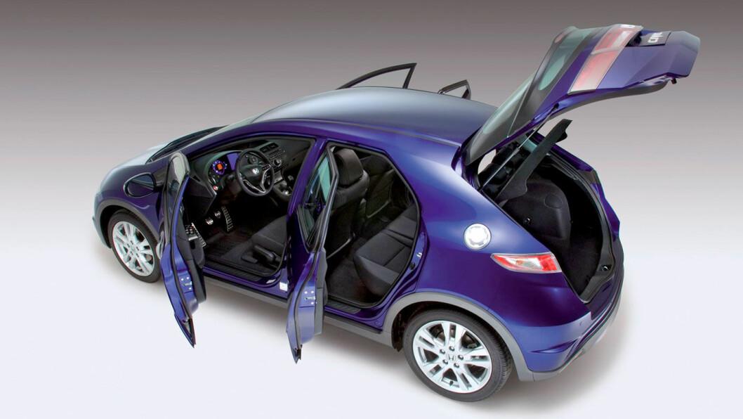 MULIG Å GJØRE ET GODT KJØP: Hva kan du regne med å få for 50.000 kroner? Et utgiftssluk – eller en god og billig bruksbil? Foto: Honda