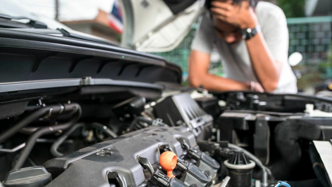 «VIRUS»: Feilkoder begynte å dukke opp med stadighet på en nesten fire år gammel bil. «Hevingsgrunn», fastslår Forbrukerklageutvalget. Foto: Shutterstock