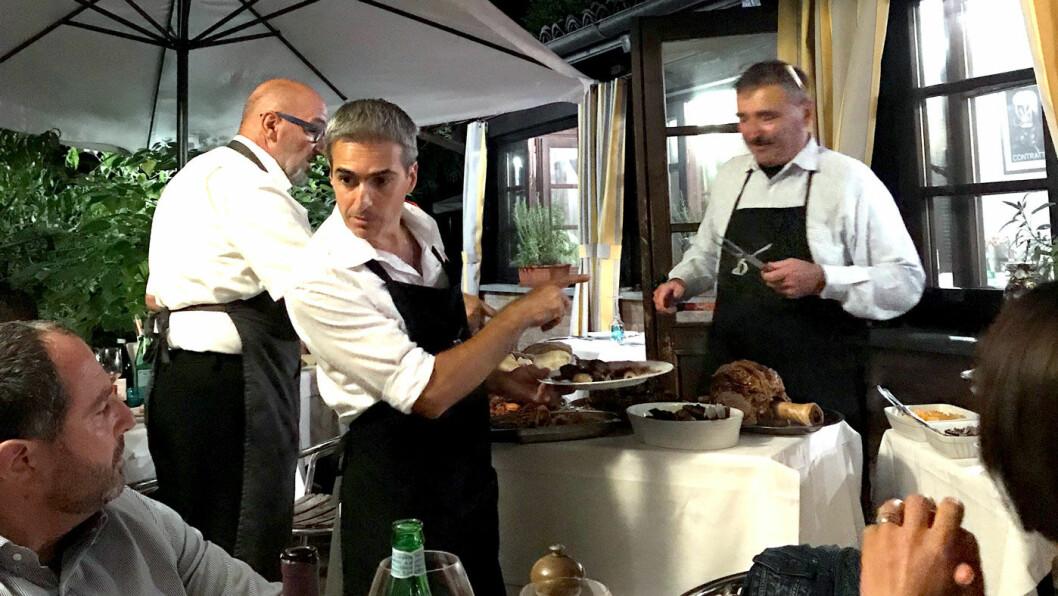 LANG LUNSJ: Måltidene er viktige i Piemonte, og det kan ta tid, og det er noe av gleden ved det.
