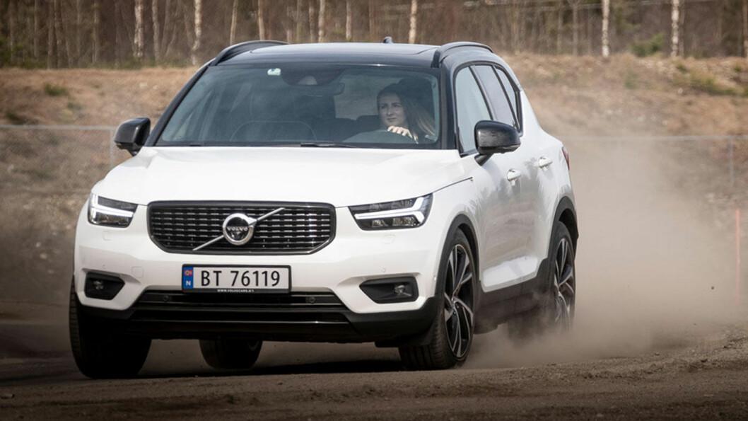 FORSINKET: Volvos minste SUV, XC40, skulle etter planen vært på markedet som ladbar hybrid i disse dager, men kommer tidligst mot slutten av 2019. Foto: Jon Terje Hellgren Hansen