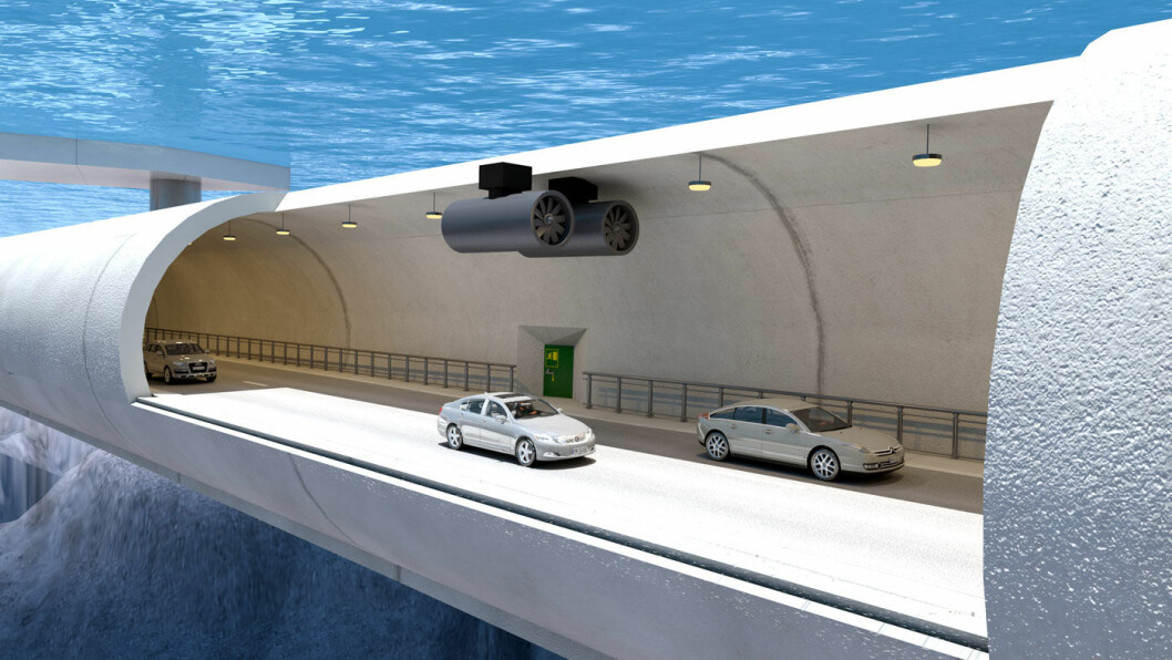 PRESTISJE: Spektakulære rørbroer som denne skal binde sammen E39 fra Kristiansand til Trondheim. Foto: Statens vegvesen