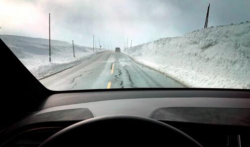 Er du dårlig forberedt kan du bli nektet å kjøre over fjellet