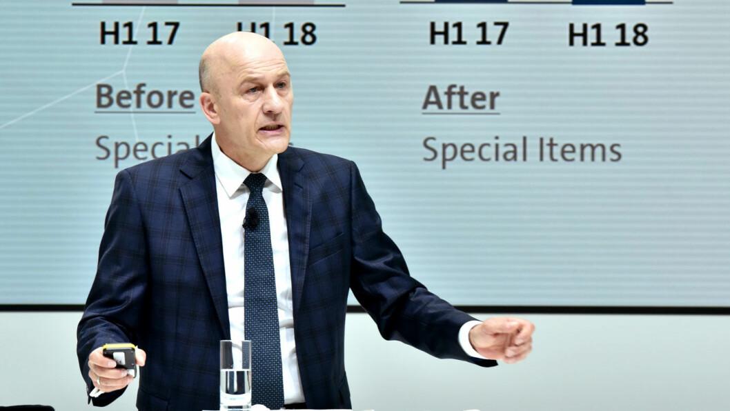 NYE TAP: VAG-konsernets finansdirektør Frank Witter konstaterer at dieselgate fortsatt koster VW dyrt. Samlet vil konsernet trolig måtte ut med 270 milliarder kroner etter jukset. Og det kan bli mer. Foto: Volkswagen AG