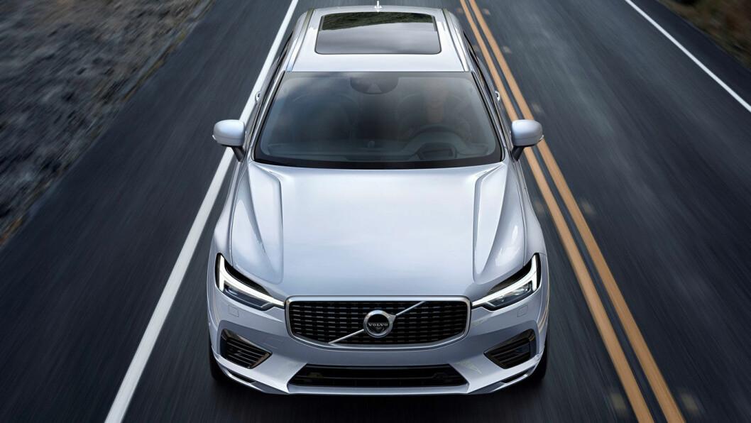 LADEFLINKE: Eiere av ladbare Volvo, og spesielt XC60, er flinke til å lade bilene og la dem gå mest mulig på ren strøm, viser en undersøkelse Volvo har gjort blant kundene.
