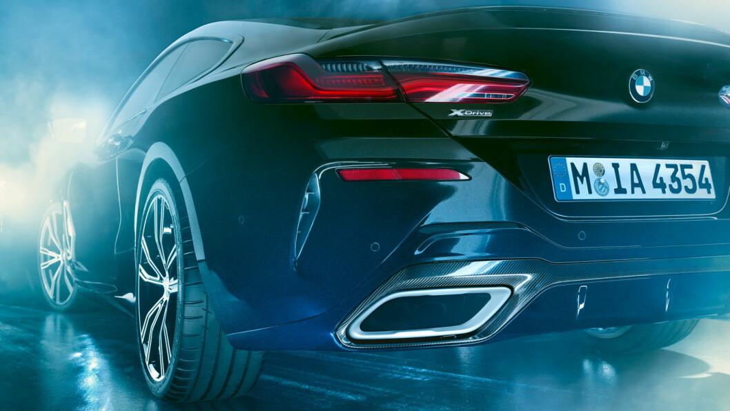 DETALJER: Denne eksklusive BMW'en er proppet med detaljer for de mest entusiastiske tilhengerne.