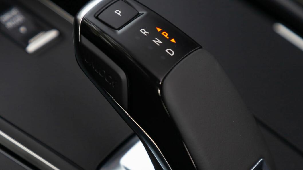 SMIDIG: Peugeots åttetrinnsautomat fungerer smidig i daglig bruk.