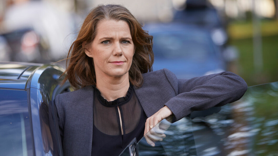 SKUFFET: Kommunikasjonssjef Camilla Ryste i NAF.
