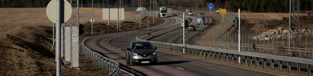 Hevet fartsgrensen, men bilistene gasset ikke på