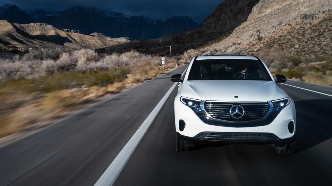 FØRST UT: Mercedes-Benz EQC.
