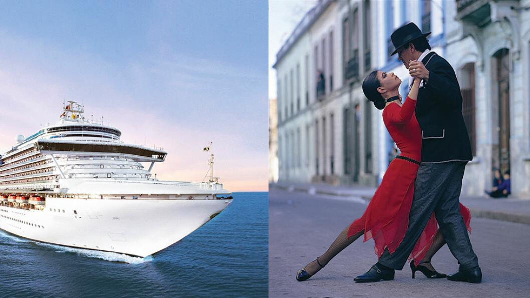 RUNDT KAPP HORN: Cruiseskipet Crown Princess tar oss fra Santiago i Chile, via fjorder med snødekte vulkaner og pingviner, til Buenos Aires i Argentina. Foto: Escape travel