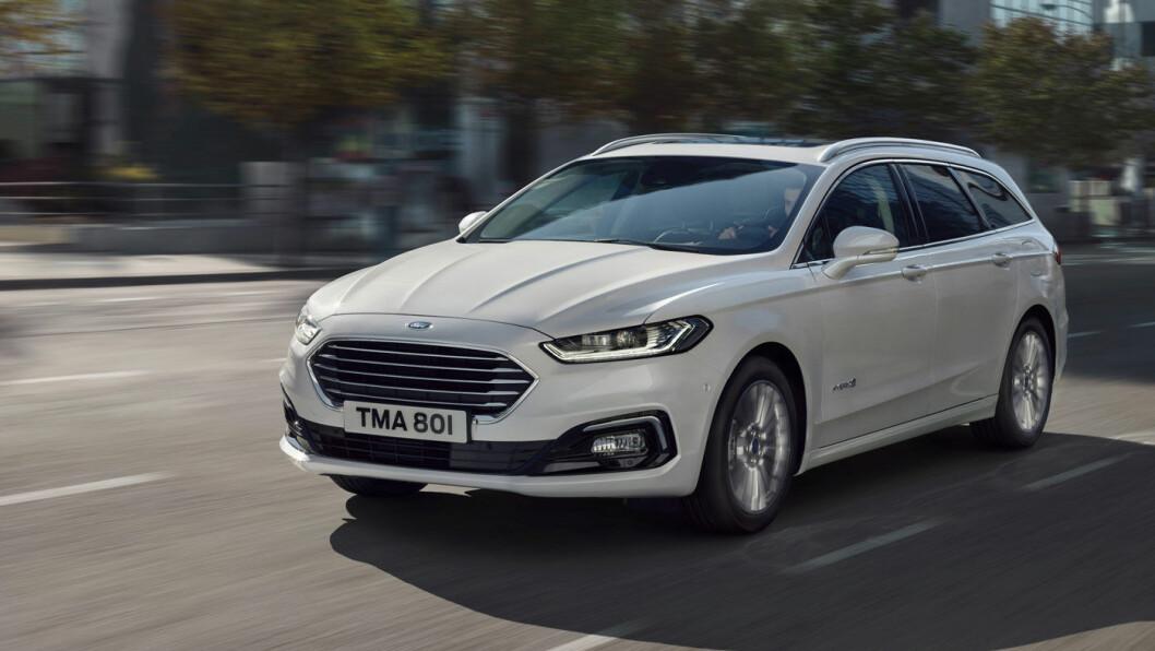 HVEM SA SUV? Ford presenterer ny Mondeo – i stasjonsvognutgave med forbedret hybridteknologi.