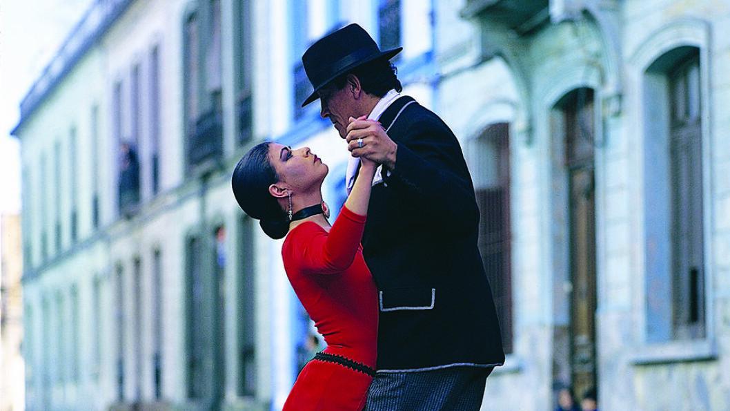 MUSIKK OG STERKE FØLELSER: Buenos Aires, Argentina, tangoens hovedstad.