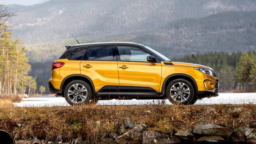 OPP, OPP, OPP: Suzuki Vitara er en av bilene som får dramatisk høyere avgifter. Foto: Tomm W. Christiansen
