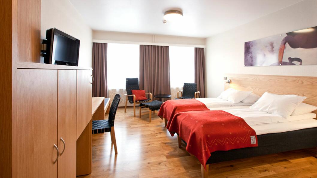 ET HYGGELIG HOTELL: Røros Hotell ligger i flotte omgivelser og byr på hyggelig service i alle ledd. Foto: Henrik Fjørtoft