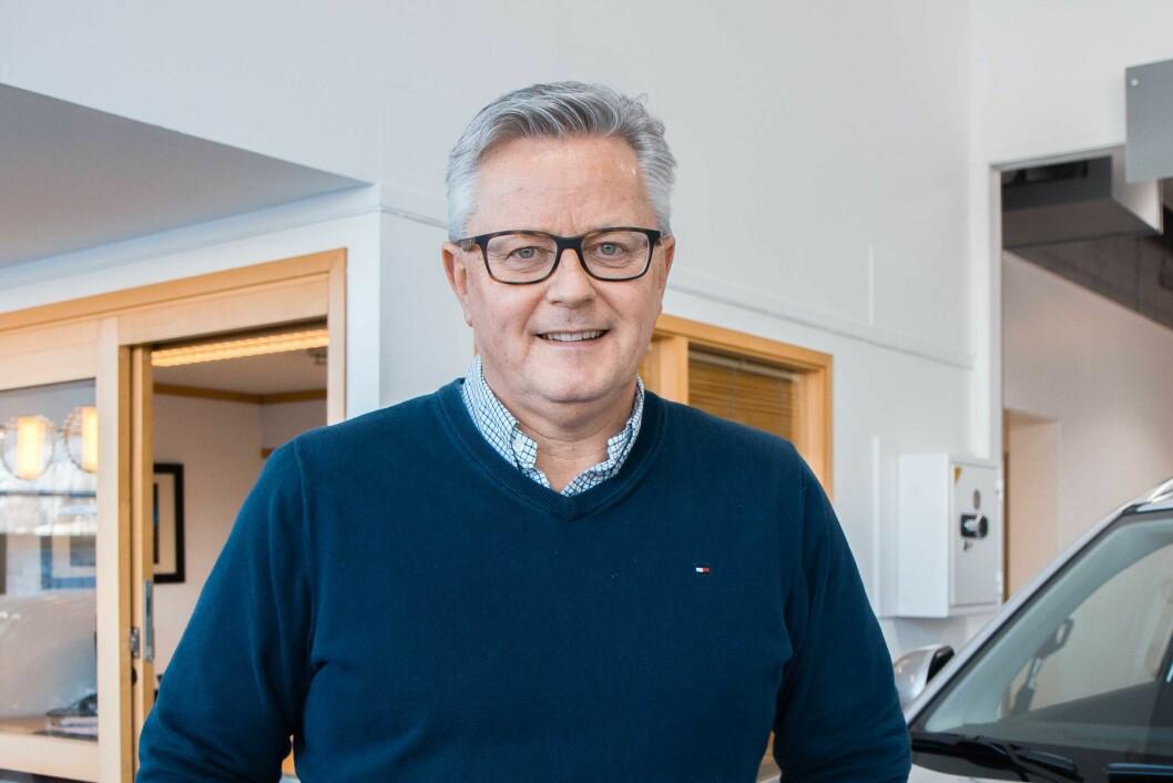 SALGSSJEF: Lars Havre i Suzuki Norge.