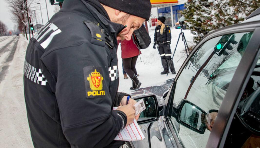 Trenger du å gi fra deg førerkortet i kontroll?