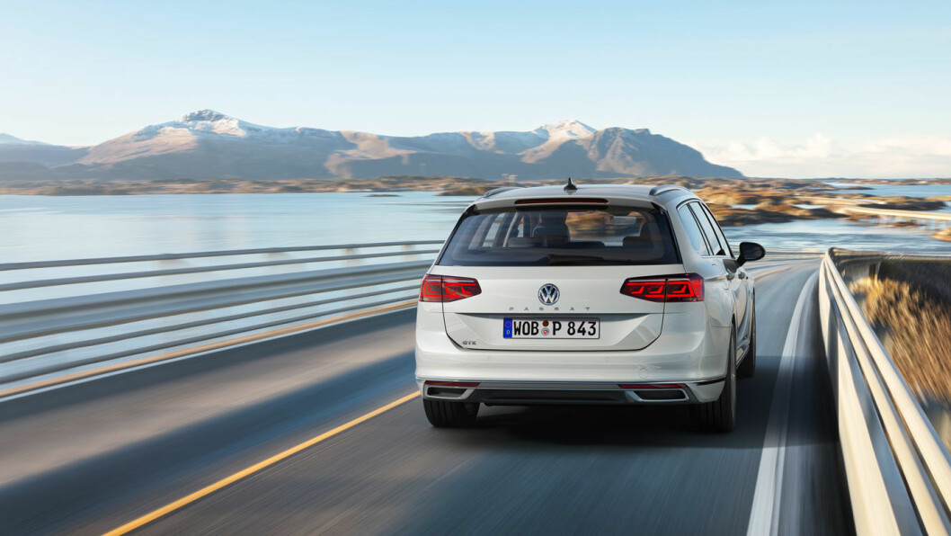 HØSTINTRO: Nye VW Passat lanseres i Norge til høsten.